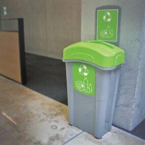 Мусорная урна для смешанных отходов в помещениях EXO NEXUS 85 MIXED