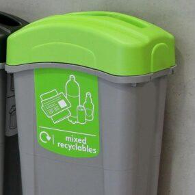 Урна для помещений для смешанного бутового мусора ECO NEXUS 85 Nix