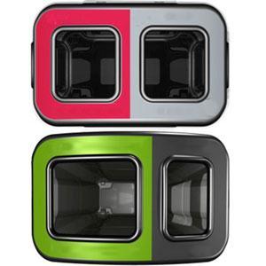 Небольшая урна для двух видов мусора Eco Nexus 60 Duo