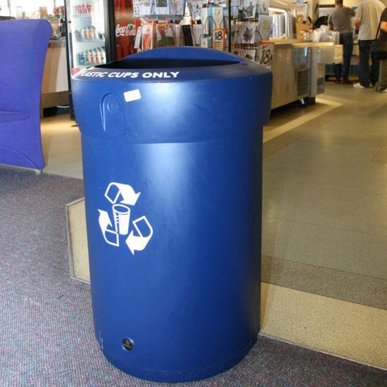 Урна для сбора пластиковых стаканов ENVOY 110 литров