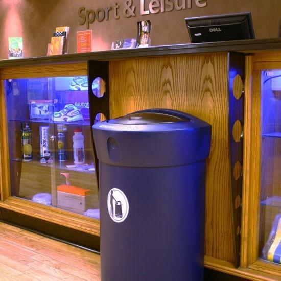 Урна мусорная в торговом центре ENVOY 110 литров