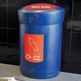 Урна для сбора пластиковых бутылок в помещениях 110 литров ENVOY GLASDON