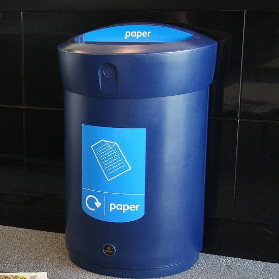 Внутренняя мусорная урна для бумаги и газет 110 литров ENVOY GLASDON