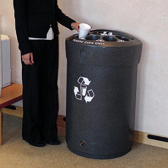 Урна для сбора пластиковых стаканчиков и слива жидкости ENVOY CAP