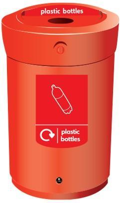 Урна ENVOY 110 для пластика
