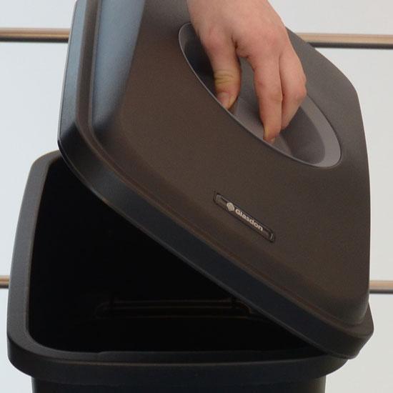 Верхняя крышка мусорной урны Mirage GLASDON