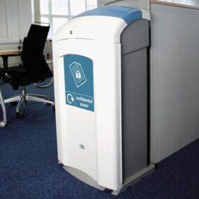 Урна для сбора конфиденциальных документов в офисах NEXUS 100 GLASDON