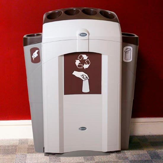 Урна для стаканчиков, мусора и слива напитков NEXUS 100 CUP