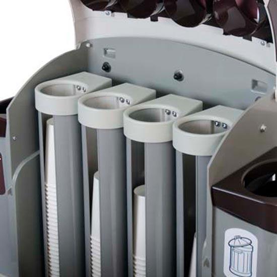 Штабелер стаканчиков в урне для мусора NEXUS 100 CUP