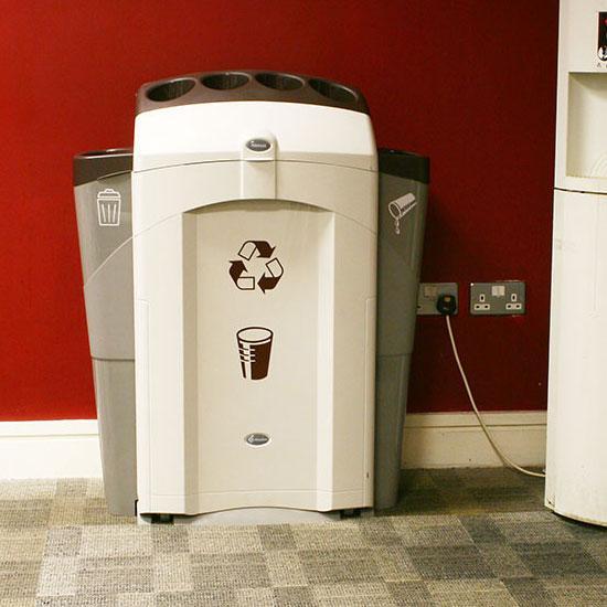 Урна для мусора, стаканчиков и жидкости NEXUS 100 CUP