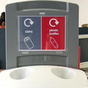 Урна для раздельного мусора NEXUS 100 DUO