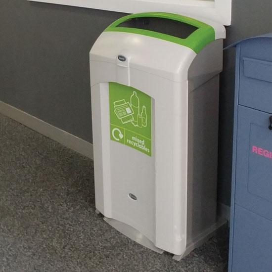 Урна для смешанного бутового мусора NEXUS 100 литров для помещений
