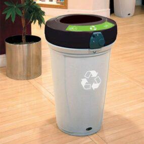 Урна для не сортированного бытового мусора 130 литров NEXUS