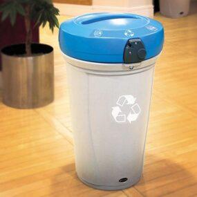 Урна для раздельного сбора бумаги в больших помещениях NEXUS 130 литров Glasdon
