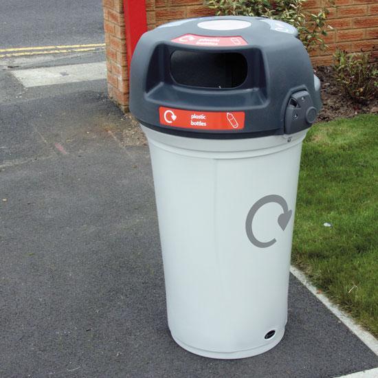 Универсальная урна NEXUS 130 3 вида мусора
