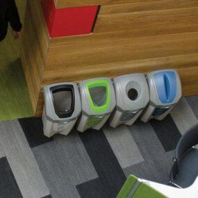Урны для раздельного сбора мусора в небольших помещениях NEXUS 30