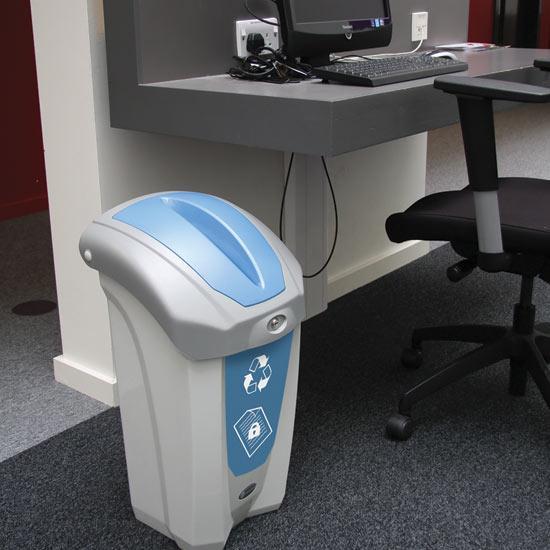 Урны для сбора документов в кабинетах Nexus30