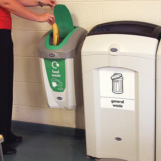 Подвесная настенная мусорная урна для пищевых отходов NEXUS 30 литров