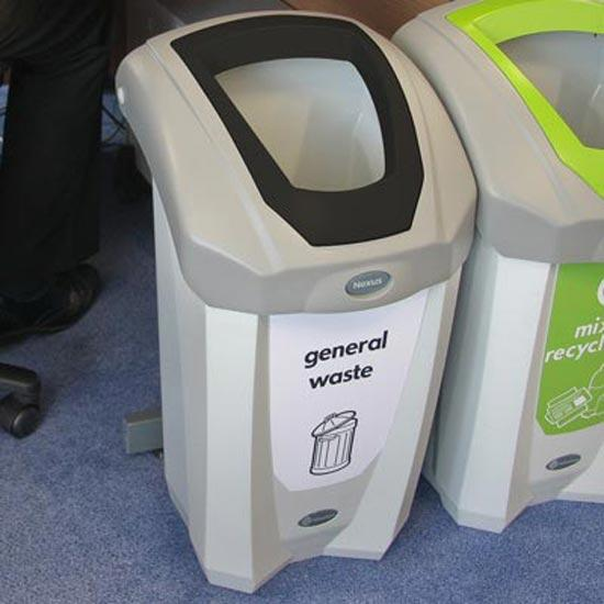 Маленькая урна для общего не сортируемого мусора NEXUS 30 General