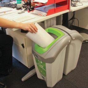 Урна для сортированного бытового мусора в кабинетах NEXUS 30 MIXED