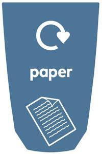 Урны для сбора бумаги в кабинетах NEXUS 30
