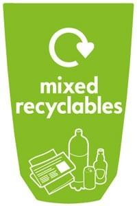 Урна для сбора мусора в кабинетах NEXUS 30 Mix
