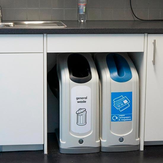 Урны для мусора под стол в офис или кухню NEXUS GLASDON