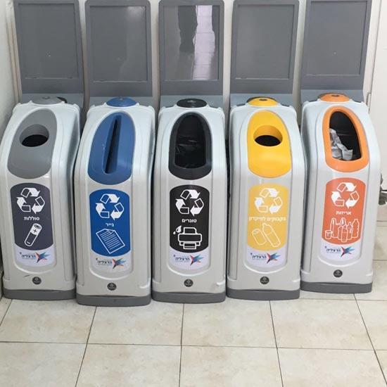 Офисные урны для раздельного сбора мусора NEXUS GLASDON