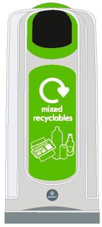 Урны коридорные для сортировки мусора NEXUS 50