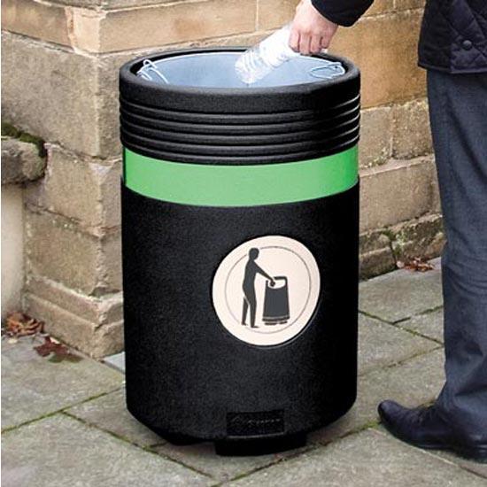 Открытая уличная мусорная урна ADMIRAL