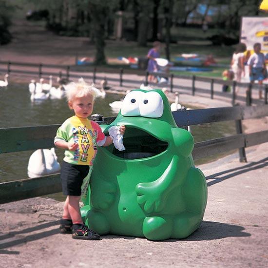 Детская мусорка лягушка GLASDON