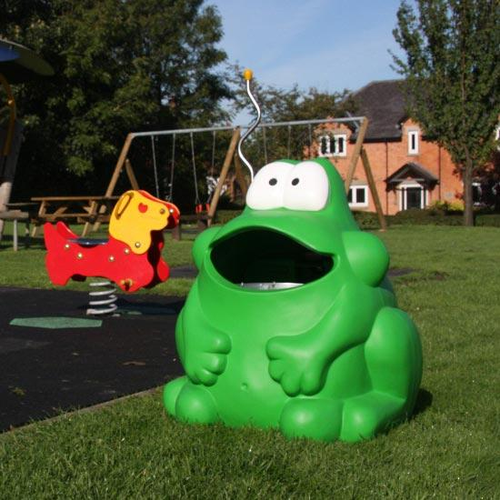 Мусорная урна для детских площадок лягушка FROGGO