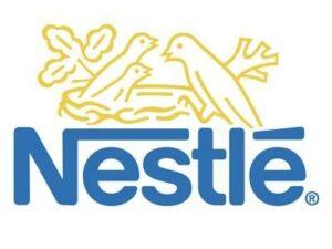 Урны для раздельного сбора мусора в компании NESTLE