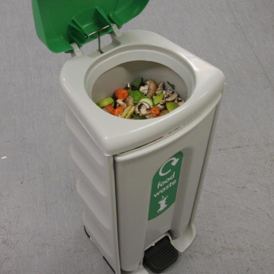 Комплектация урны Shuttle для сбора органических отходов