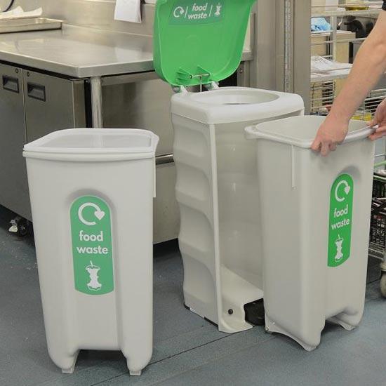 Мусорная урна для органических отходов в общепите Shuttle