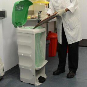 Урна с педалью для сбора пищевых отходов Shuttle