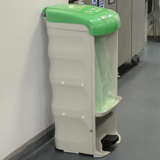 Урна для сбора мусора в общепите и ресторане GLASDON Shuttle