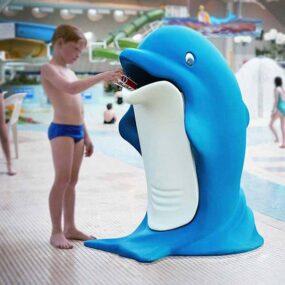 Детская мусорная урна Дельфин GLASDON