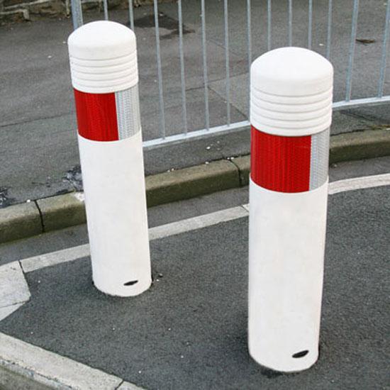 Уличные пластиковые болларды Admiral Англия