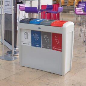 Урна для 4 видов мусора EVO NEXUS