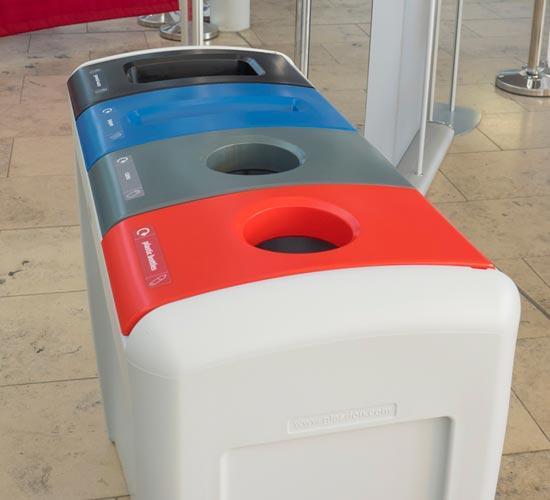 Урна для бумаги, пластика и алюминиевых банок EVO GLASDON