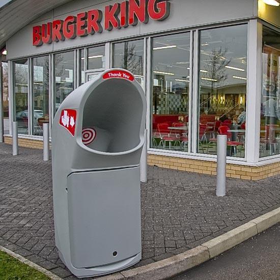 Урна для мусора Burger King Combo Delta