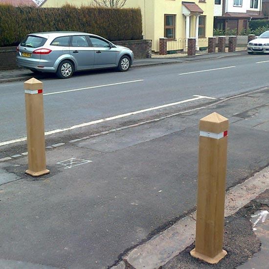 Уличные дорожные разделительные столбики GlenWood