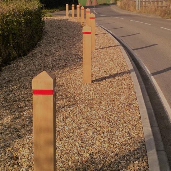 Разделительные барьерные столбики Glenwood