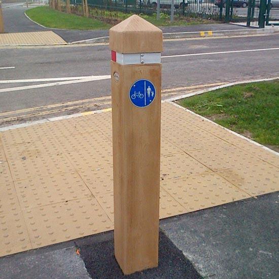 Дорожный барьерный столбик Glenwood