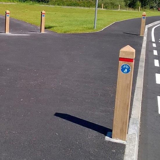 Дорожный столбик бетонируемый Glenwood