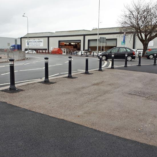 Дорожные тротуарные столбы Manchester
