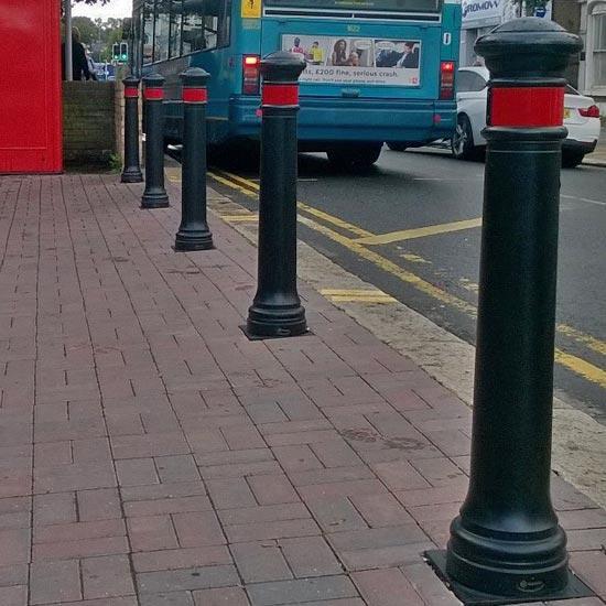 Дорожный тротуарный столбик Manchester