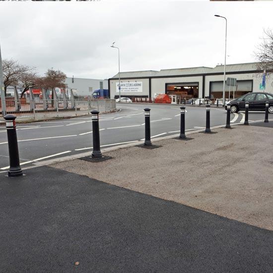 Тротуарный дорожный столбик Manchester