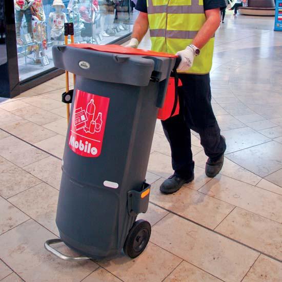 Тележка для уборки мусора Mobilo GLASDON